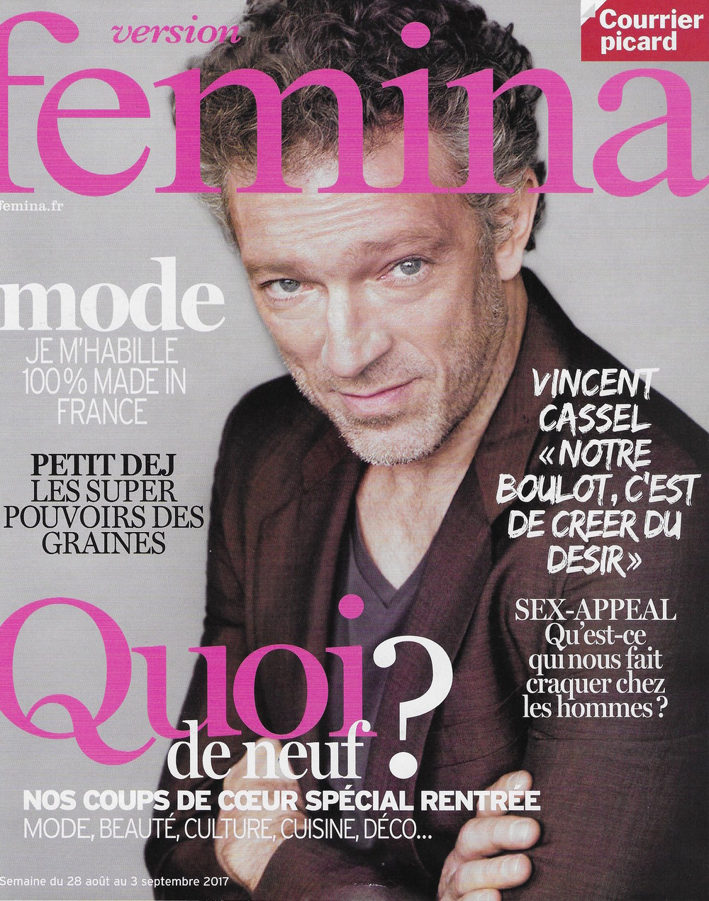Version Femina - 28 Aout au 3 septembre 2017 - Couv.jpeg