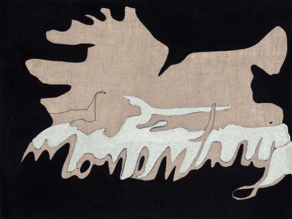momentary a , TBD acrylic on linen