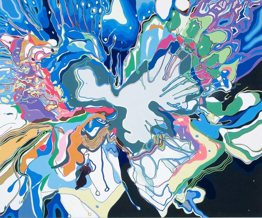 maimed , 2006 60 x 72 inches acrylic on canvas