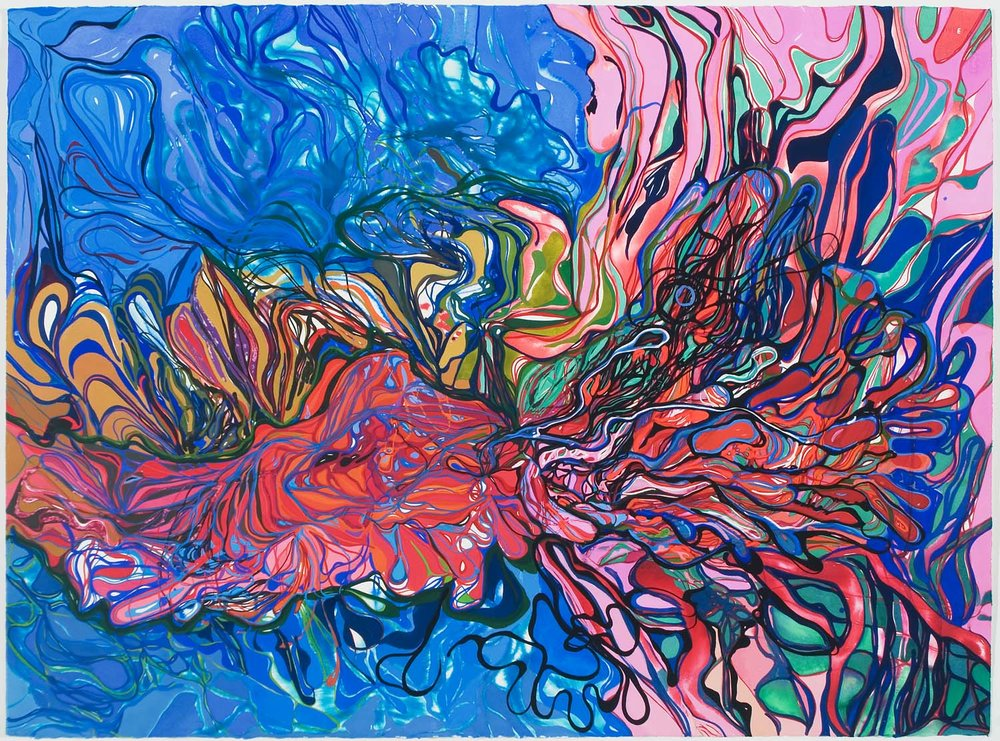 untitled ap, tbd 23 x 30 inches gouache on paper 100-141