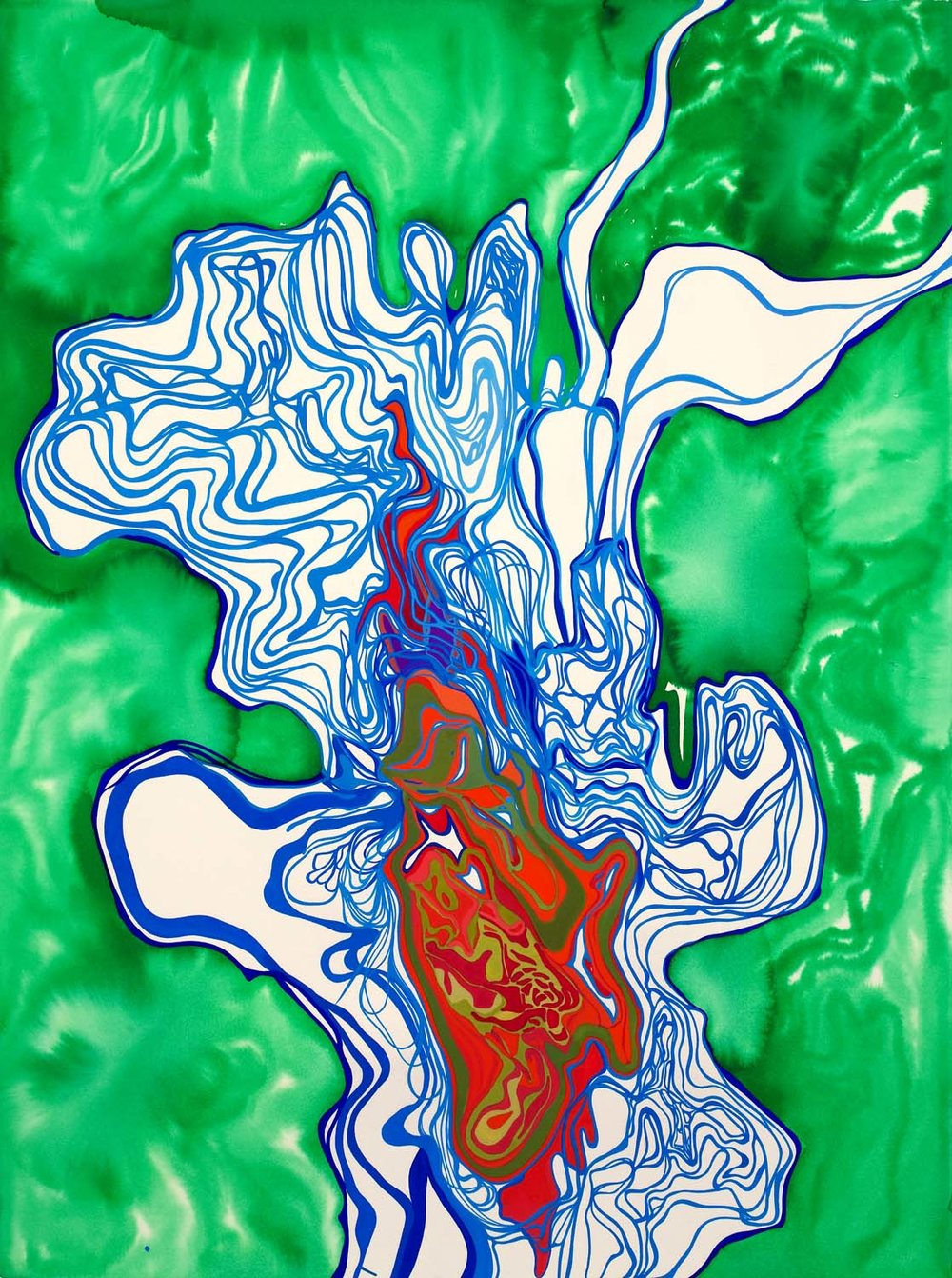 untitled bp, tbd 30 x 23 inches gouache on paper 200-168
