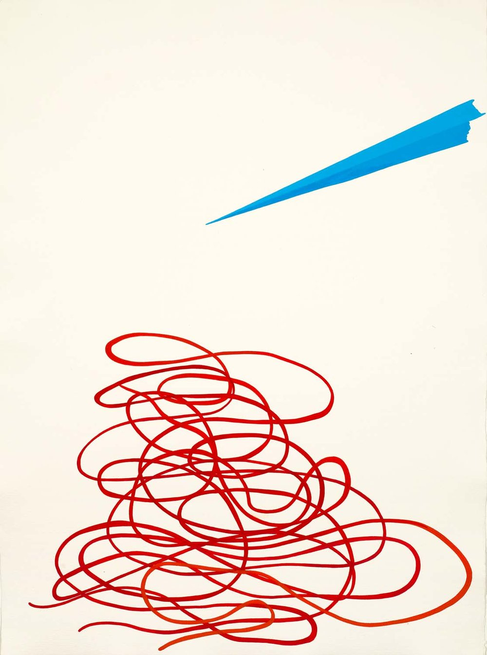 untitled, tbd 30 x 23 inches gouache on paper 100-172