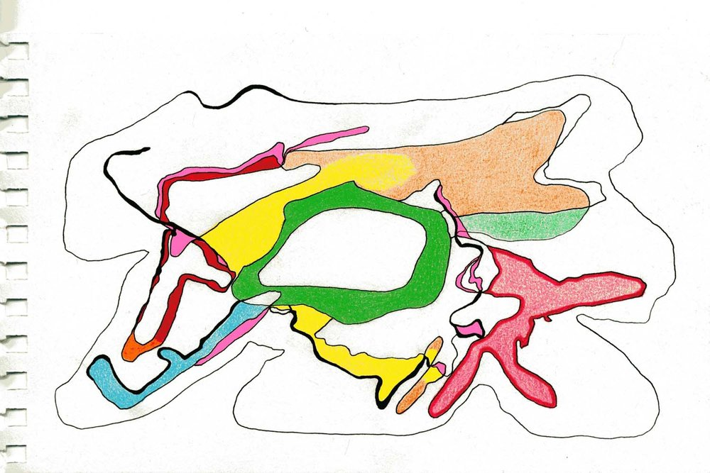 untitled b , 2012 6 x 8 inches colored pencil on paper 001-34