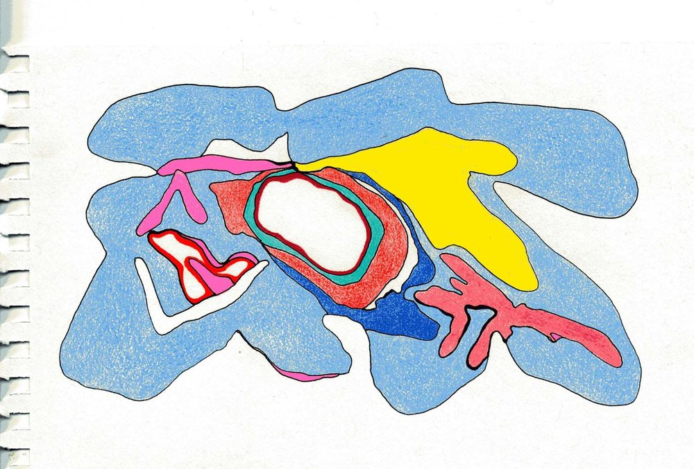 untitled a c 2012 6 x 8 inches colored pencil on paper 001-35