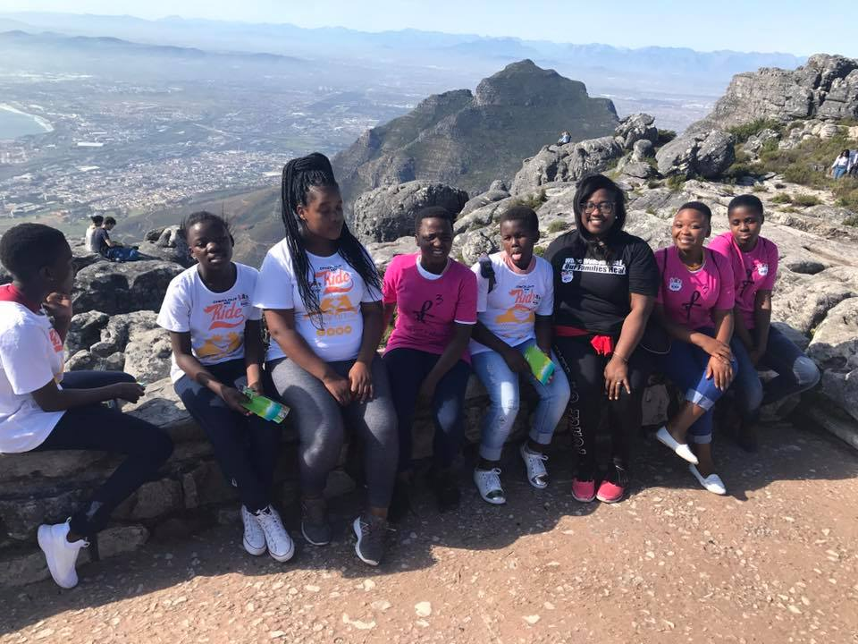 Monchel Empowers Teenage Girls in South Africa