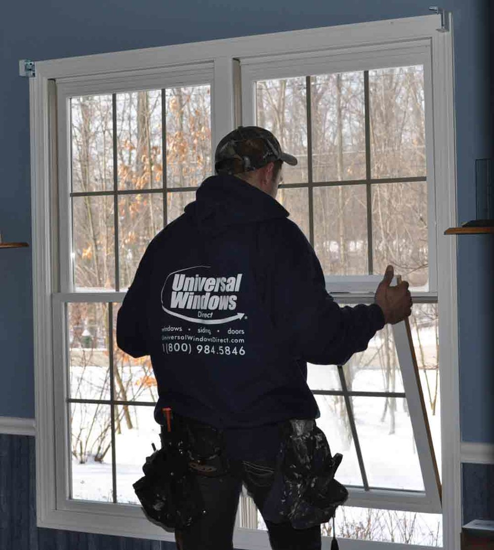 We professionally install windows.
