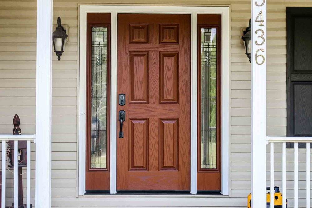 Custom Made Entry Doors and the 4 Options That Make Them Great ... on large exterior doors, color exterior doors, custom size cabinets, custom size mirrors, custom size screens, custom size glass,
