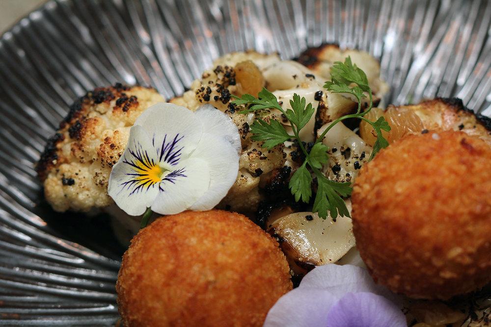 Iron Bloom - Grilled Cauliflower