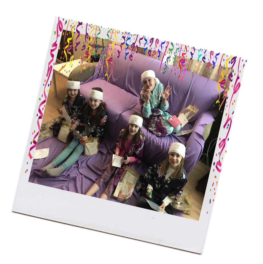 Zoey Koko Spa Party Girls