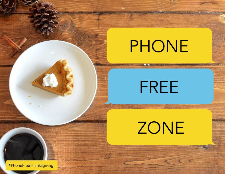 PHONE FREE ZONE SIGN