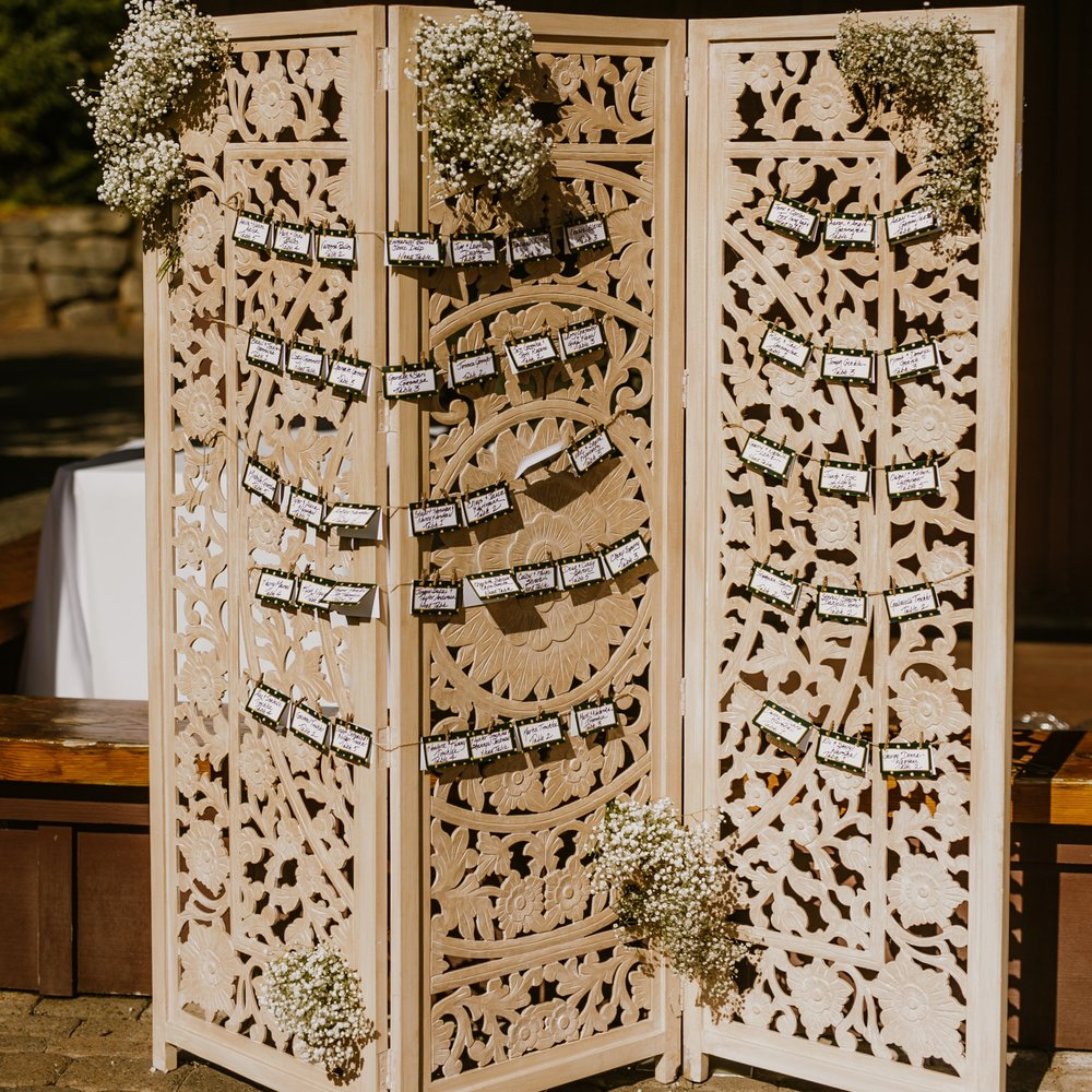 Carved Wood Screen