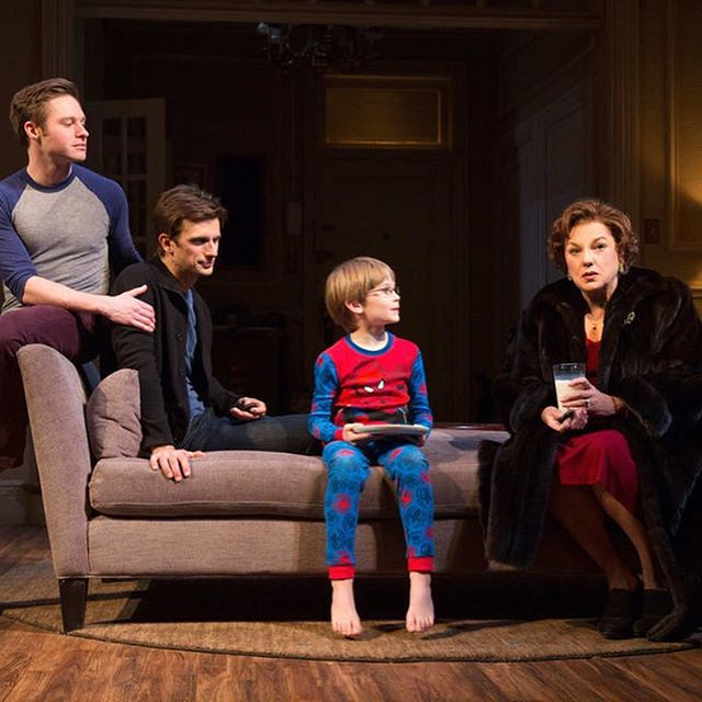 Looking back four years ago today when MOTHERS AND SONS opened with us on Broadway! Starring #TyneDaly #BobbySteggert #GraysonTaylor and #FrederickWeller, and produced by @anastasiabway's own @tomkirdahy! 📸: @joanmarcus