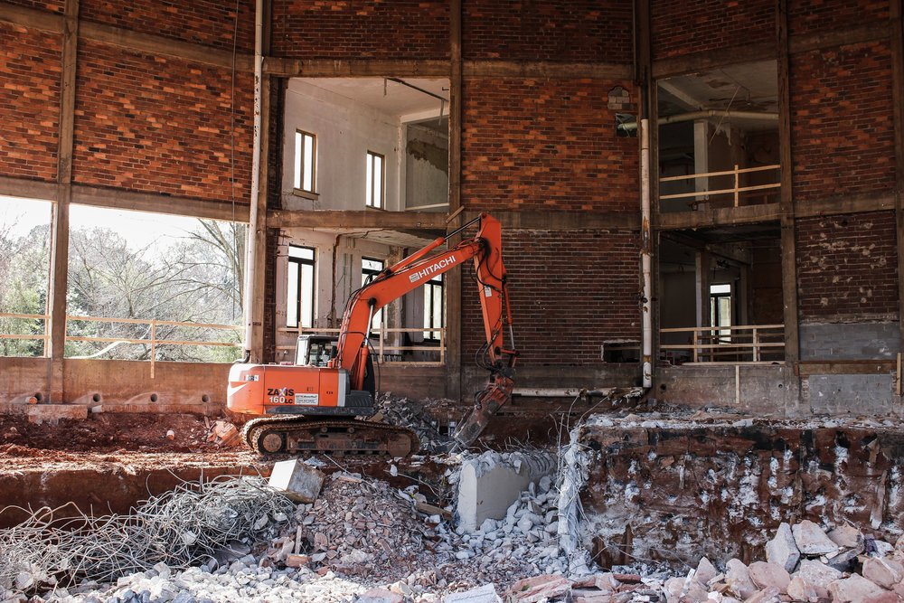 LOW IMPACT INTERIOR DEMOLITION -