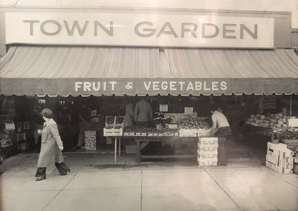 "Our first retail store ""Town Garden"" was located on Main Street in Watertown, Massachusetts."