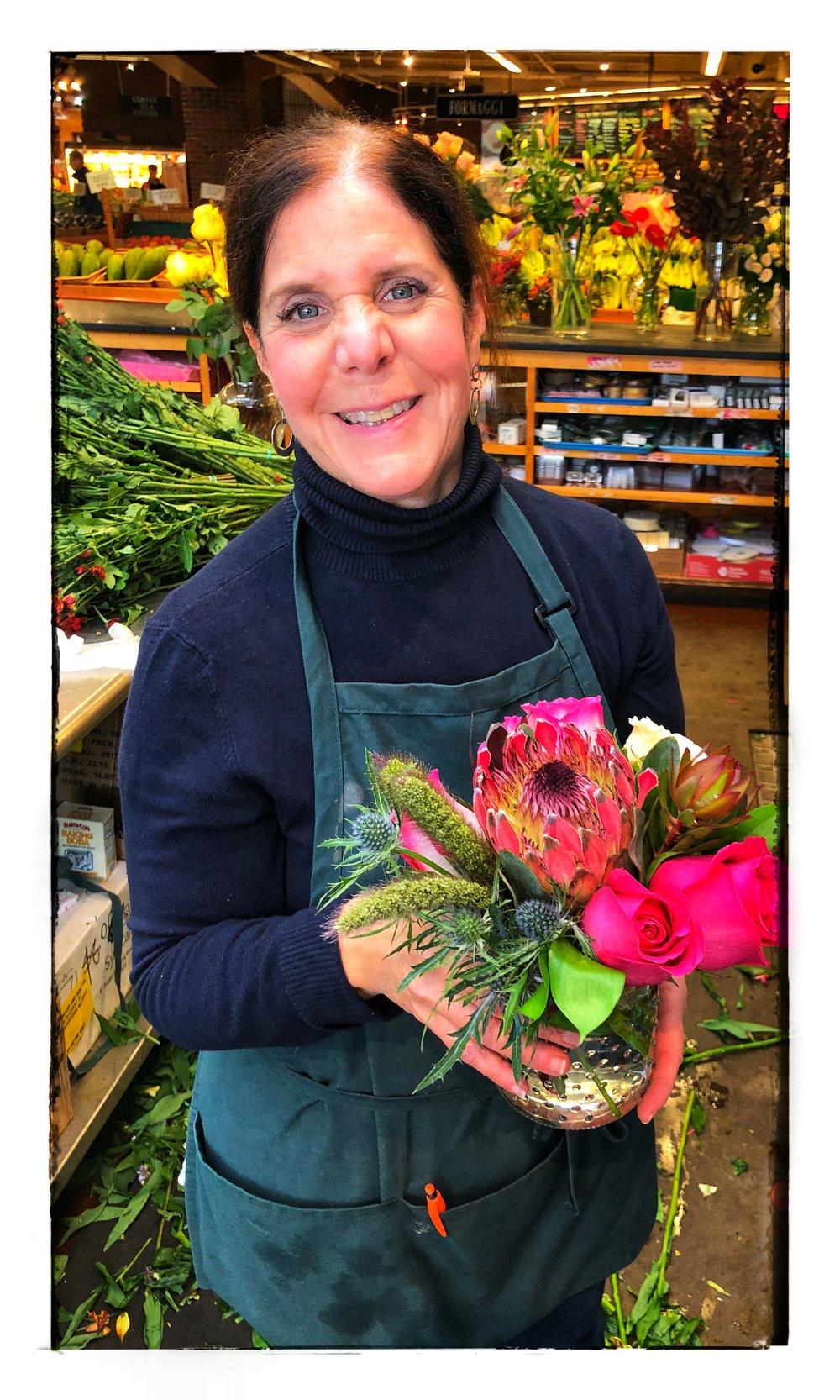Meet our wonderful florist Deb!
