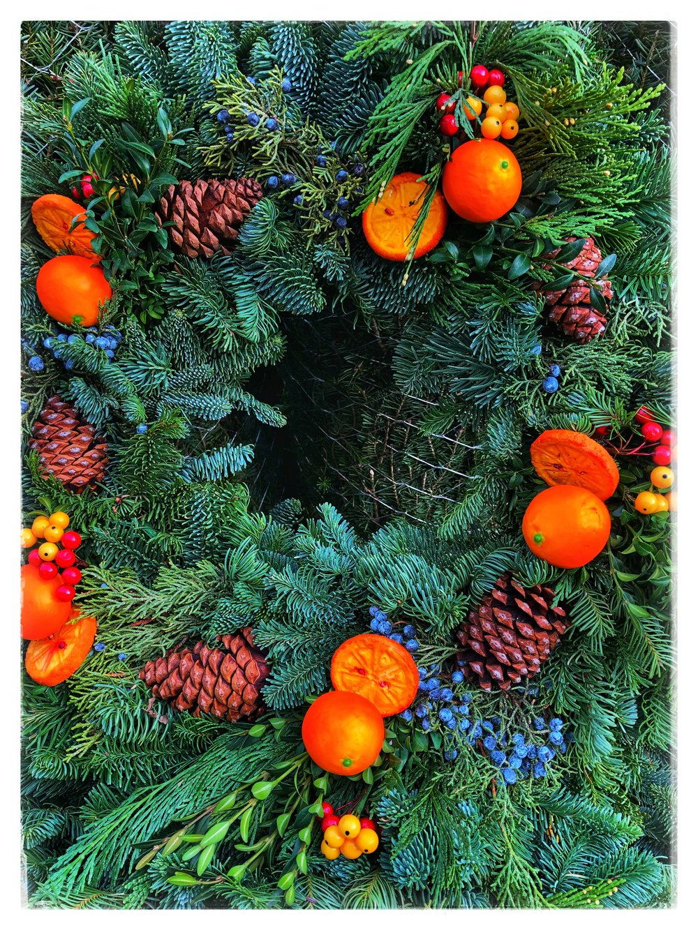 Holiday wreaths have arrived at Russo's!
