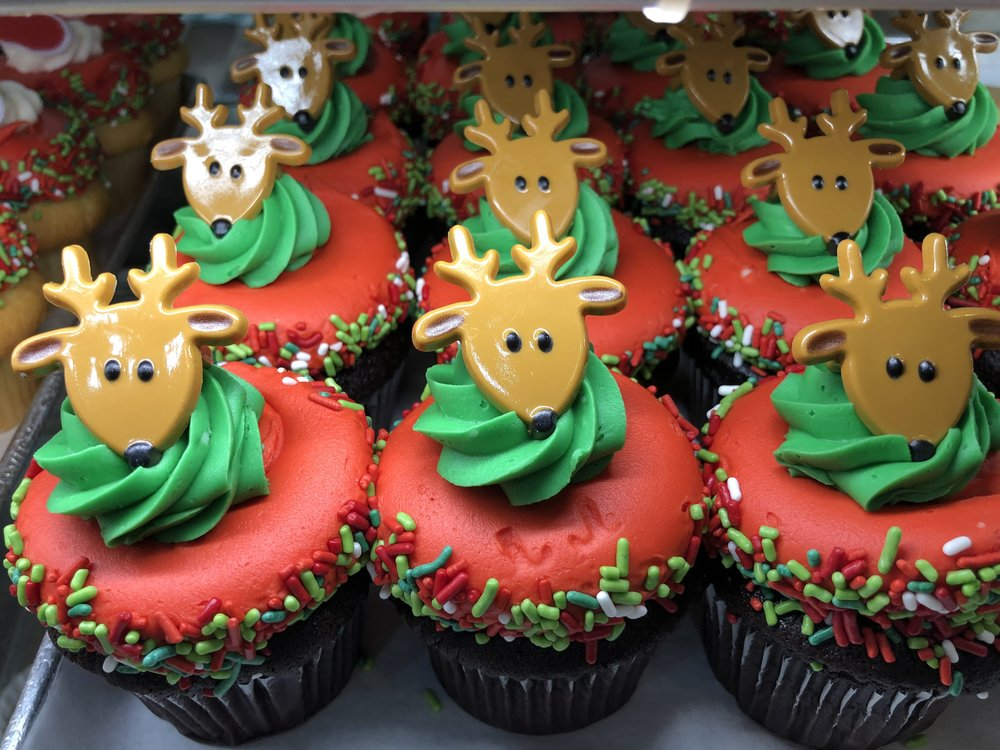 Reindeer cupcakes at Russo's