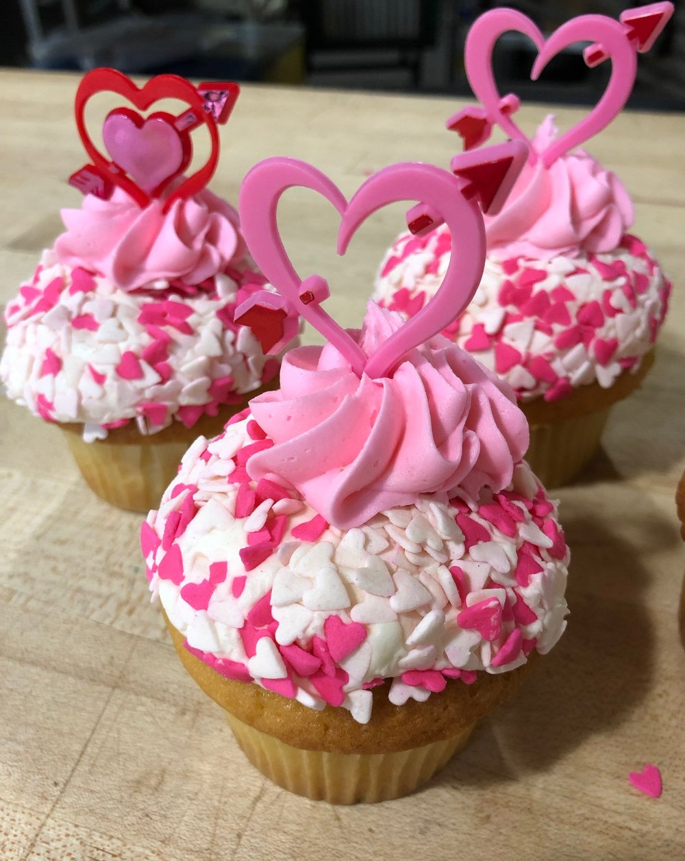 "Valentine's Day cupcakes are delicious and a sweet way to say ""I love you"" (or at least ""I like you"")"