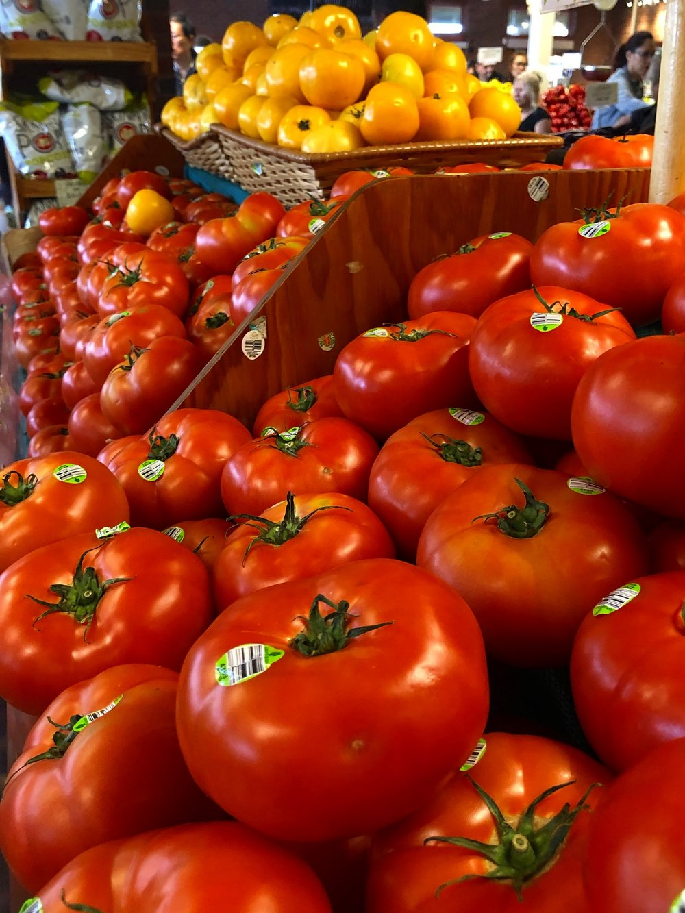 Tomatoes are on special this week at Russo's.