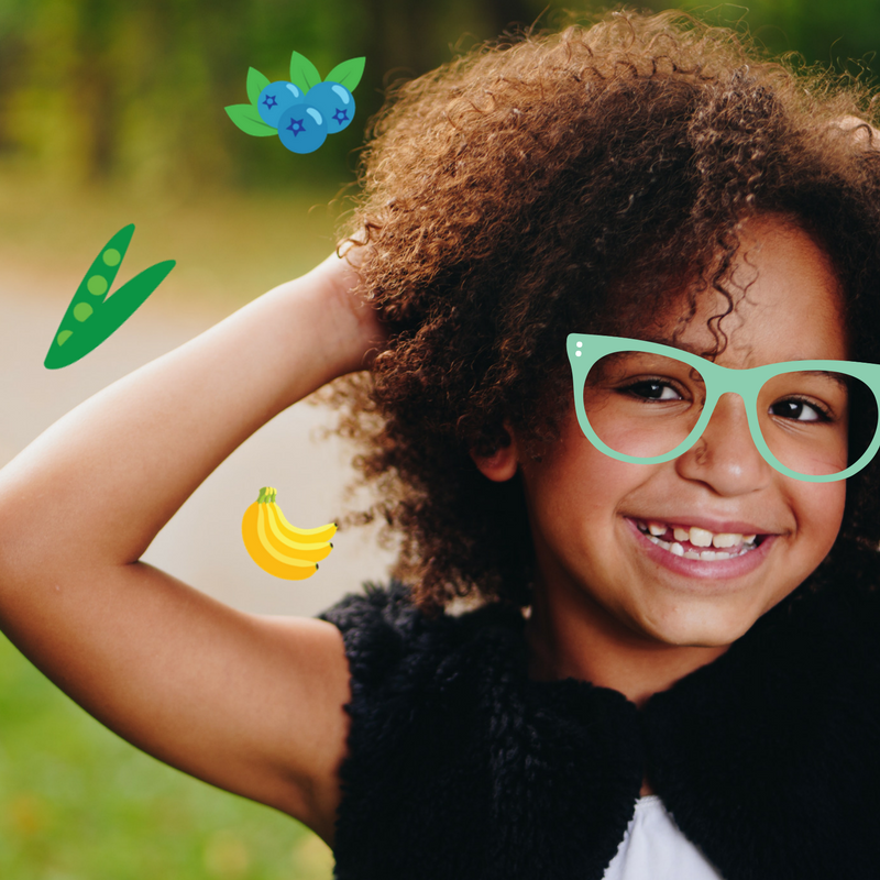 Cute Sunglasses Little Girl.png