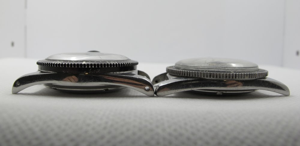 7085 (left) 7840 (right) *Notice the lower overall height and flatter lug shape.