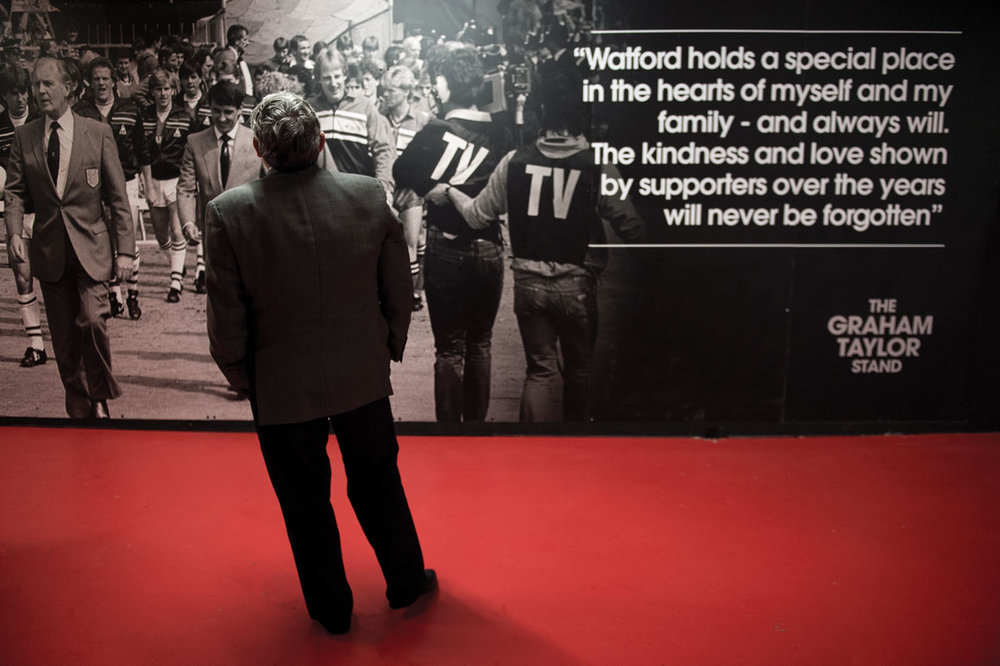 Graham Taylor Stand Contemplation