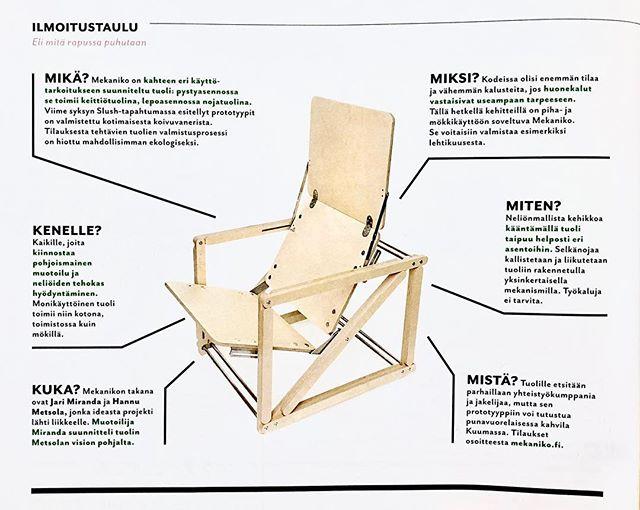 #3h+k #mekanikochair  #finnishdesign  #nordicdesign #productdesign #furnituredesign #design #plywood #cnc #funktional #furniture #sustainable #startup #chair #interior #decoration #architecture