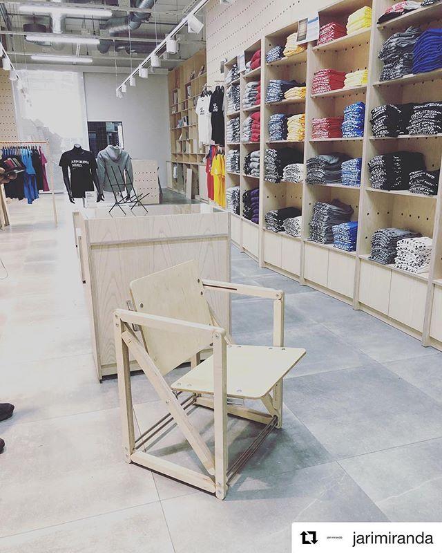 #Repost @jarimiranda ・・・ #aaltoshop  Checkout the @mekanikochair at the new @aaltouniversity Väre building