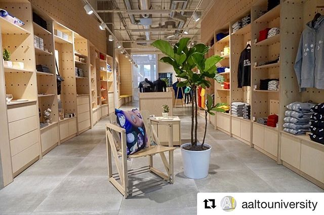 #Repost @aaltouniversity ・・・ Today is opening day of our first Aalto University Shop! 🎈Located in Väre and close to the new A Bloc, the beautiful space will sell university goods, Aalto Arts Books and beautiful student designed products. Open Monday - Friday 9.00 - 19.00, Saturday 9.00 - 17.00. More online shop.aalto.fi #aaltoshop #aaltouniversity #väre @ablocotaniemi @aaltoartsbooks #aaltocampus