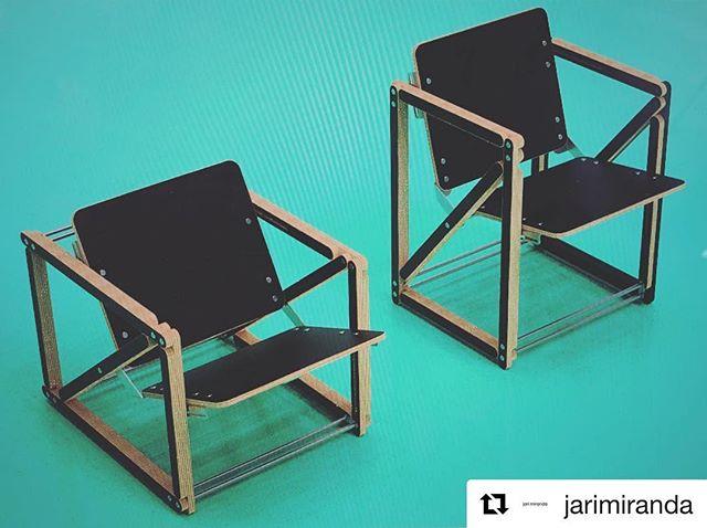 #Repost @jarimiranda ・・・ Mekaniko Basico ・・・ #2in1chair #mekanikochair #mekaniko #bragforfinland #finnishdesign  #nordicdesign #productdesign #furnituredesign #design #plywood #cnc #funktional #furniture #sustainable #startup #chair #interior #decoration #3d #punavuori #jarimiranda #slush17