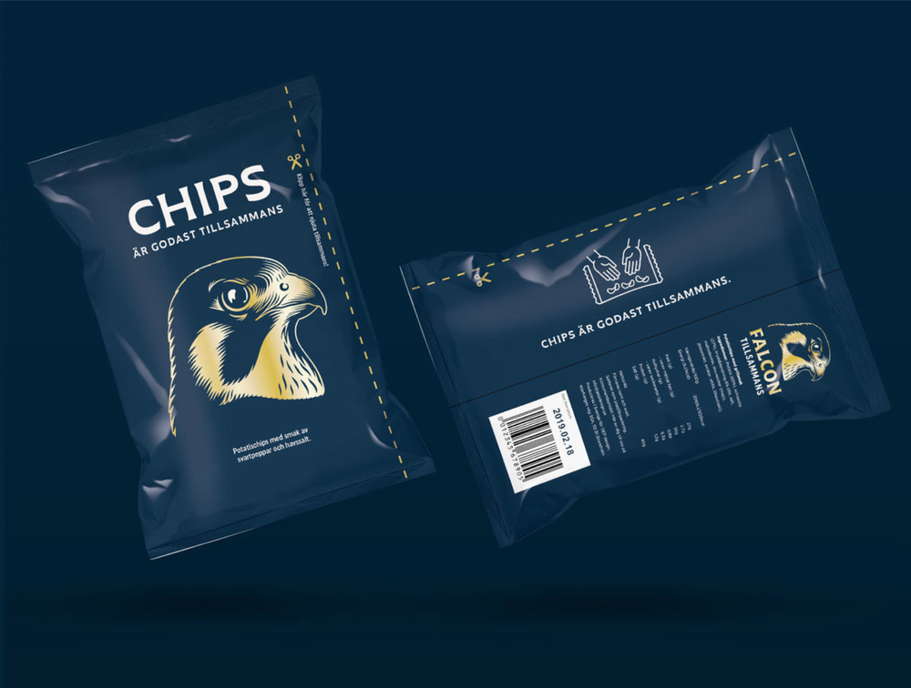 A bag of chips which you don't have to fight over? What a flipping idea.