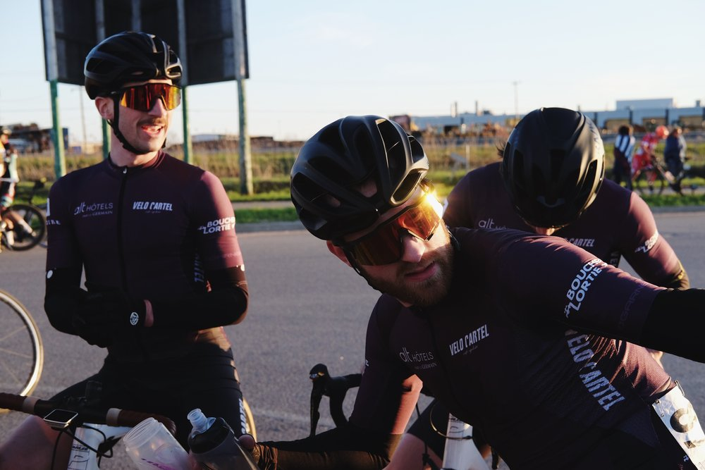 Les équipes cyclistes -
