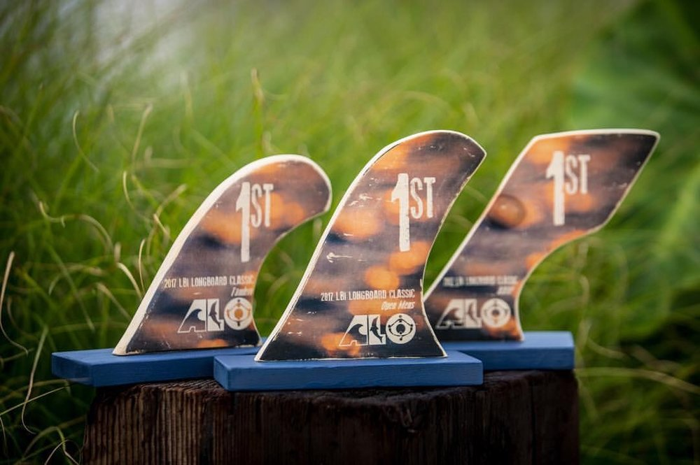 Collaboration Trophies for the ALO Longboard Classic