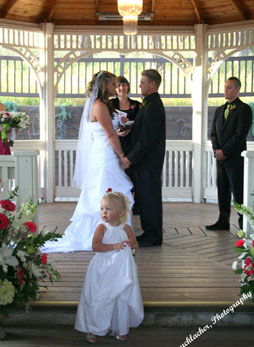 Couple exchange vows at Black Hills Receptions