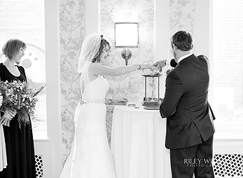 One-of-a-kind wedding ceremony with Mary Maisey-Ireland at Hotel Alex Johnson