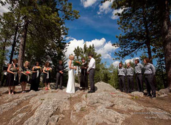 A picturesque Black Hills wedding at Sylvan Lake Lodge in Custer State Park