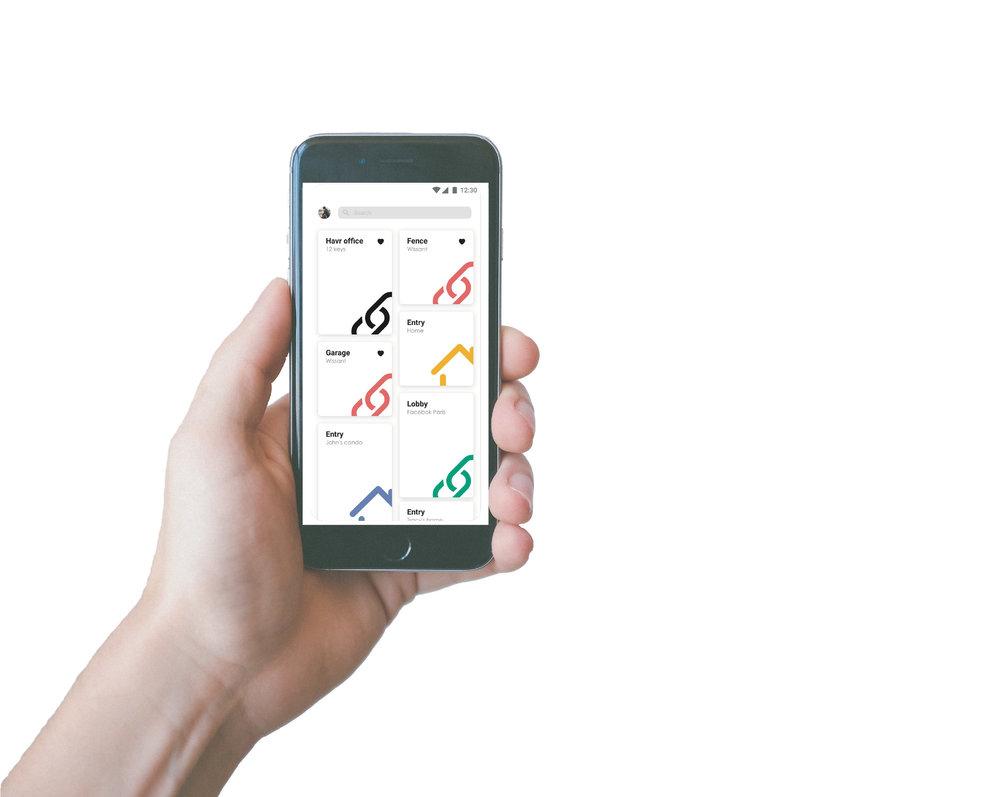 Bright Lock - Avez-vous déjà imaginé que votre smartphone puisse devenir une clé ? Il le peut. Ouvrez l'application HAVR, flashez et entrez. C'est aussi simple que ça.