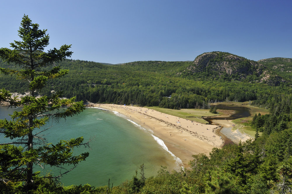 Acadia National Park sprawls across Mount Desert Island.  - The park surrounds Bar Harbor and is woven into the fabric of living here.