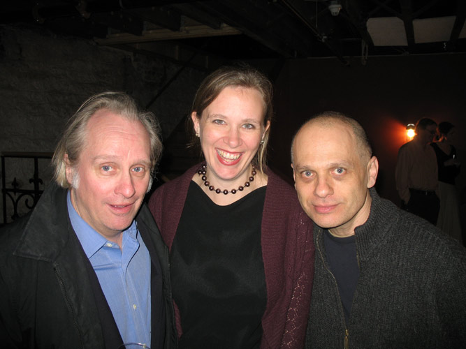 Amy Williams with Nils Vigeland and David Lang (Buffalo, 2007)