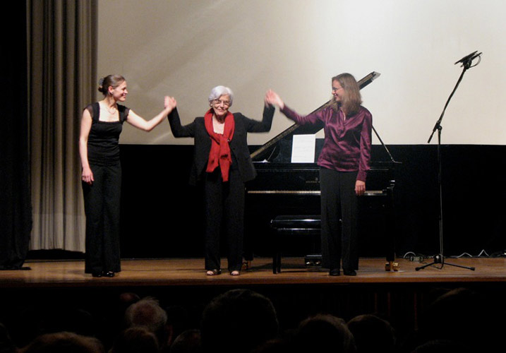 The Duo with Betsy Jolas (Munich, 2009)