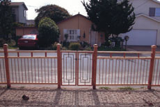 Fence & Gate - Recycled Copper & FSC Certified Redwood
