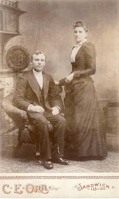 Rev. Karl Loppert with his wife Elizabeth.
