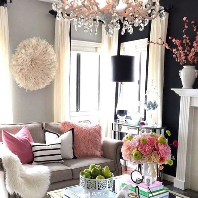 Glam Living Room designed by Home and Fabulous