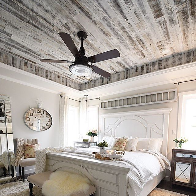 Rustic Glamour bedroom designed by The DIY Mommy
