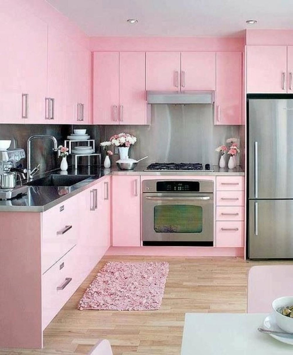34. contemporary glam pink kitchen-decorateur chic.jpg
