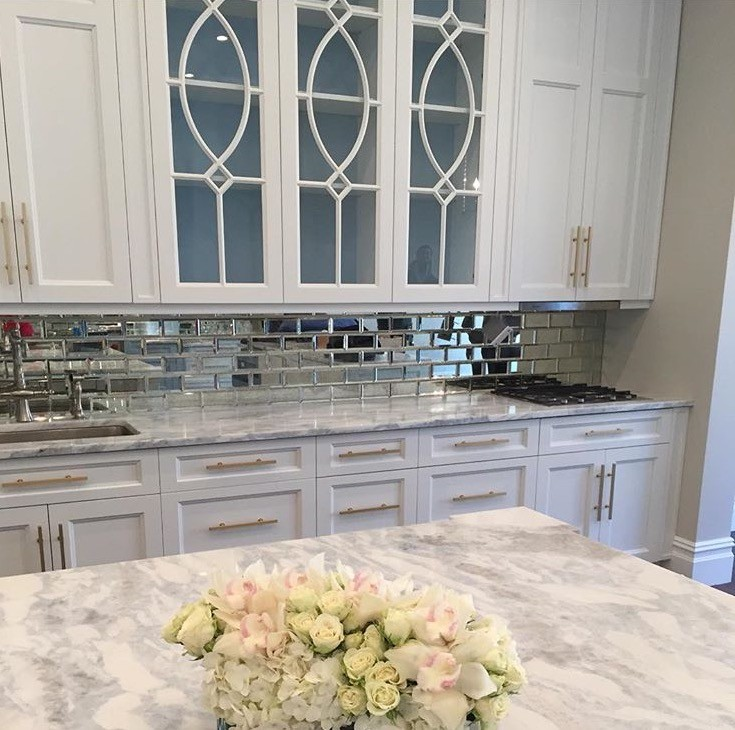 Mirrored Subway tile from  Tile Bar  $19.95/sq ft