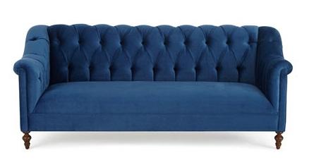 Horchow - Raina Tufted Velvet Sofa$4,599.00 25% Off :$3449.25