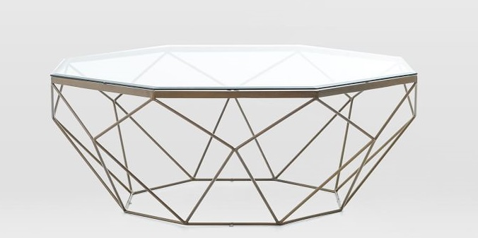 Create The LookColorful Living Room Décorateur Chic - West elm geometric coffee table