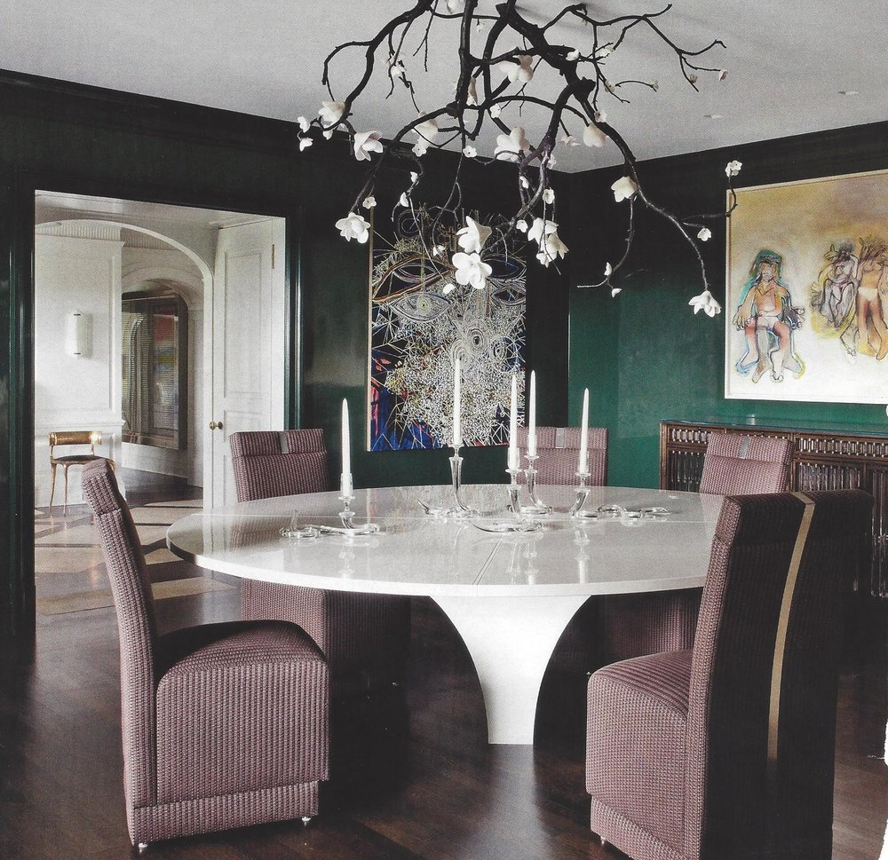 106. Color Palette Chic-Glamorous Teal and Purple Dining Room.jpg
