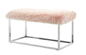158. Faux fur glamorous bench-decorateur chic-how to add glamour to your home.jpg